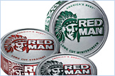 Red Man cans