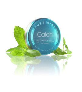Catch Pure Mint white snus 2010.jpg